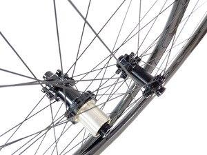 Image 4 - 29er 650B MTB XC tubeless carbon wheelset 29in straight pull wheels 30X30 30X25 28X25 28X28 UD 3K 12K 24H 28H SHN 10s 11s XD XX1