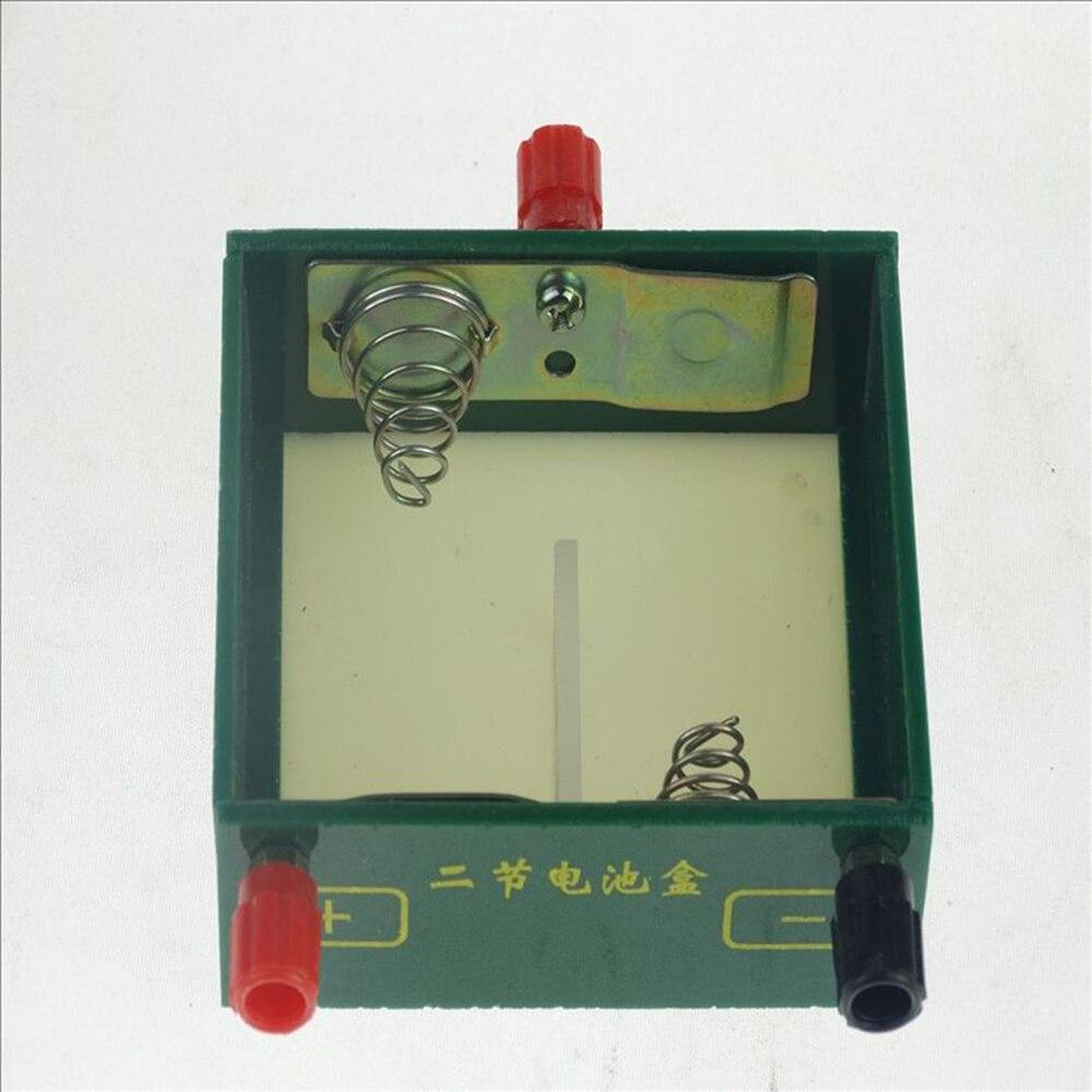 1 Pc Student Physikalische Elektrische Experiment Von Lehre Instrument Ausrüstung 2 D Batterie Box Plexiglas