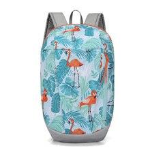 10L Women Men Print Outdoor Backpack Sport Bag Portable Ultralight Travel Hiking Climbing Camping Daypack Running