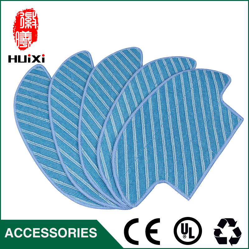5pcs Washable 289*146*168mm Microfiber Mopping Cloth for D36A TEK TCR-S TCR-S2 TCR660 M1 Robot Vacuum Cleaner for Huose 5x ecovacs hepa filter and 5x fine filtration cotton replacement for d36a tek tcr s tcr s2 tcr660 m1