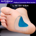 Foot Care Tool 1Pair Size L Arch Support Orthopedic Orthotic Insole Flat Foot Flatfoot Correction Shoe Insoles Cushion Inserts