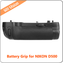 Vertical Battery Grip Holder for Nikon D500 DSLR Digital camera Work with EN-EL15 Battery MB-D17