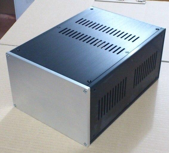 Amplificateur cas taille 221*150*311mm 1 # Tout en aluminium amplificateur châssis/Préamplificateur cas/AMP boîtier/DIY AMP cas/BRICOLAGE boîte