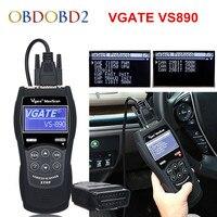 VGATE VS890 OBD2 Code Reader Universal OBDII Scanner Multi languages and Car Diagnostic Tool Vgate VS 890 Free Ship