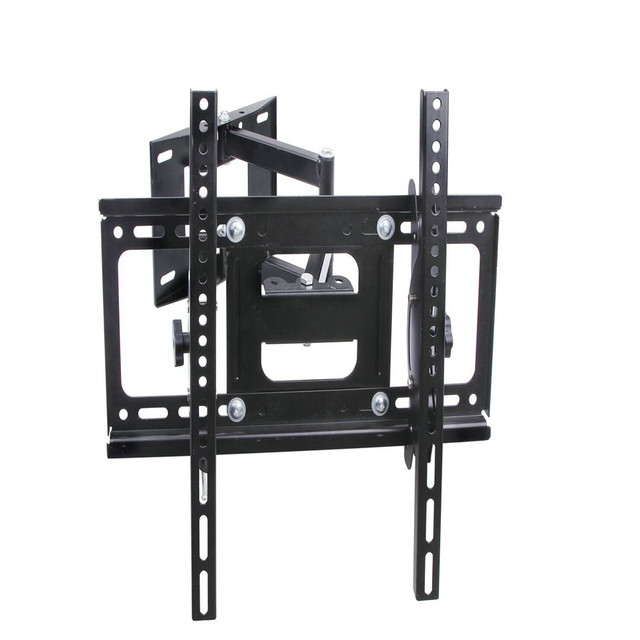 "Adjustable Swivel LED LCD Bracket TV Mount Wall Mount Wall Bracket 26""~55"" Steel Support 45kg Monitor Stand Adjustable Mount TV"