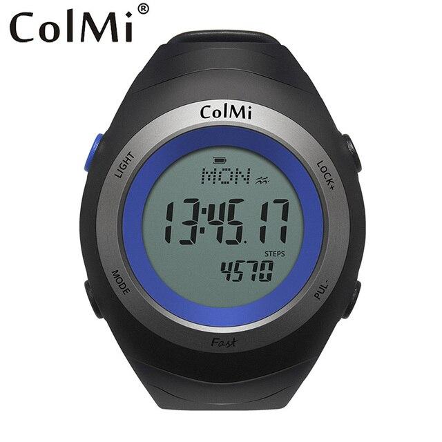 Colmi Смарт-часы быстро сердечного ритма Мониторы 5ATM Водонепроницаемый упражнения время ожидания 30 дней SmartWatch открытый человек Бег часы