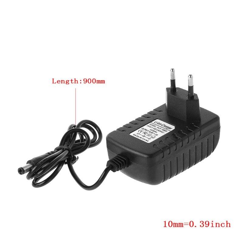 EU/US Plug 4 S 16.8V 2A AC chargeur pour 18650 batterie au Lithium 14.4V 4 série Lithium li-ion batterie chargeur mural