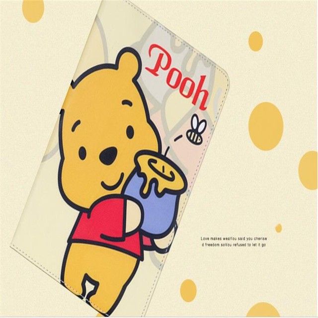 Original brand quality winnie the pooh pattern tablet case for ipad original brand quality winnie the pooh pattern tablet case for ipad 234 air 12 voltagebd Gallery