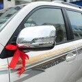 Chrome Cubierta del Espejo Retrovisor Lateral Para Toyota Land Cruiser 200 2008-2011 Accesorios FJ200