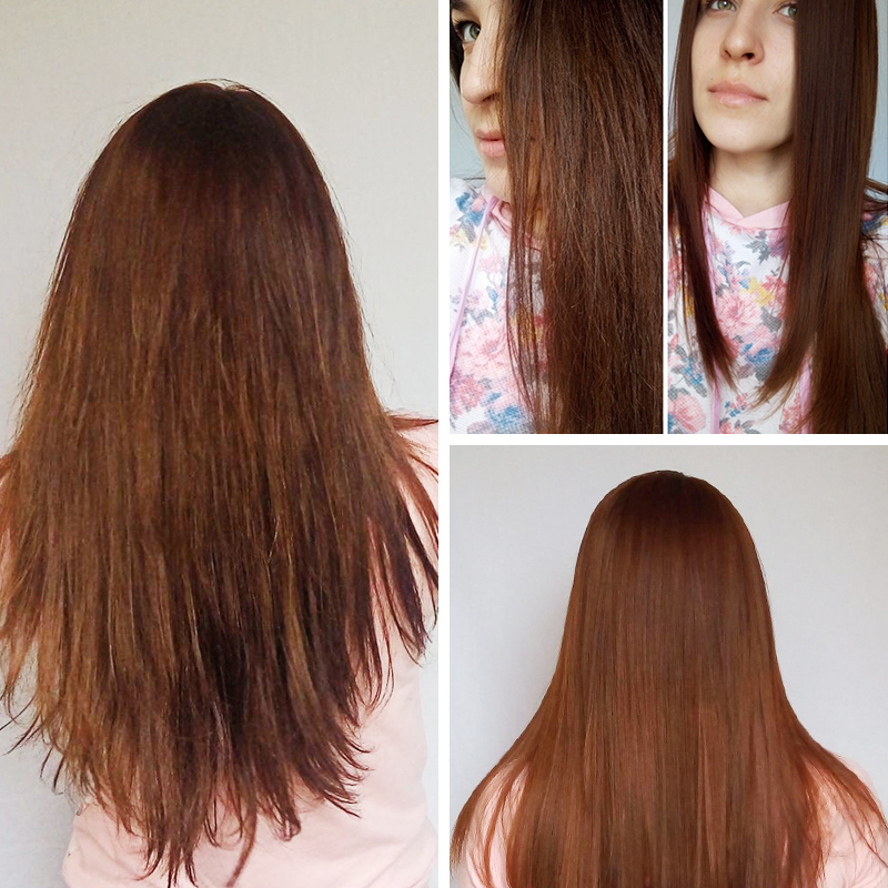 PURC Brazilian Keratin Treatment straightening hair 5%formalin Eliminate frizz and have shiny hair treatment free gift agran oil 4