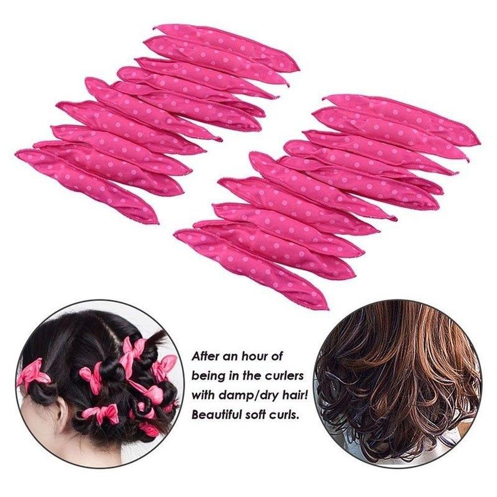 Magic Pillow Soft Rollers Spiral Curls Flexible Foam ...