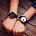 South Korea Creative Concept No Pointer Fashion Personality Women Men Couple Watches New Trend Minimalist Gift Watches Y10758