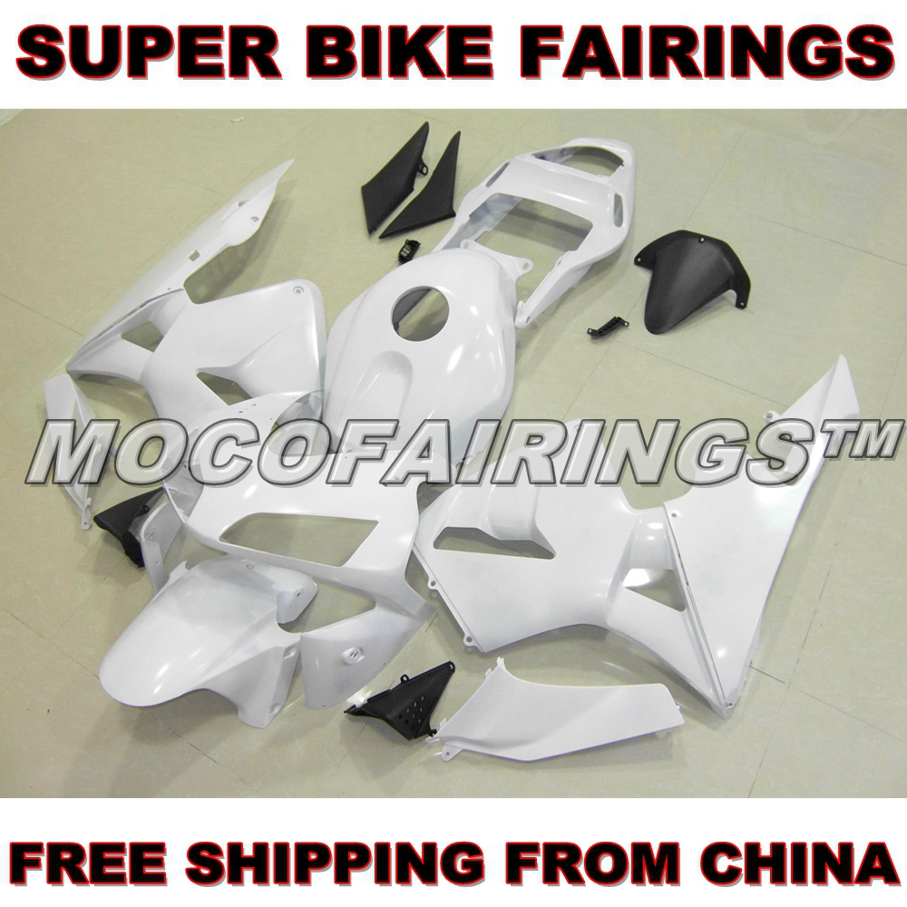Motorcycle Unpainted ABS Fairing Kit For Honda CBR600RR 2003 2004 CBR 600 RR F5 03 04 Fairings Front Nose Kits Bodywork Pieces motorcycle abs unpainted upper front fairing for honda cbr 600rr 2003 2004 cbr600 f5 03 04