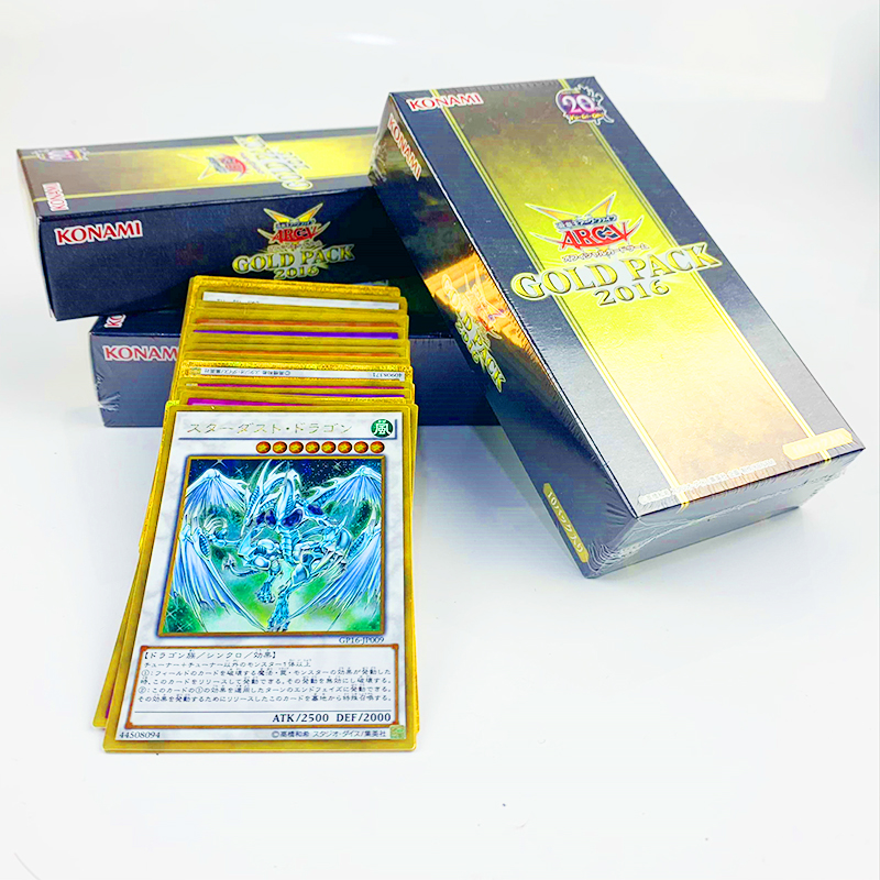 Yu Gi Oh Legend Gold Pack GOLD PACK 2016 GP16 Japan Game King Card Animation YuGiOh Game Card Collection Box