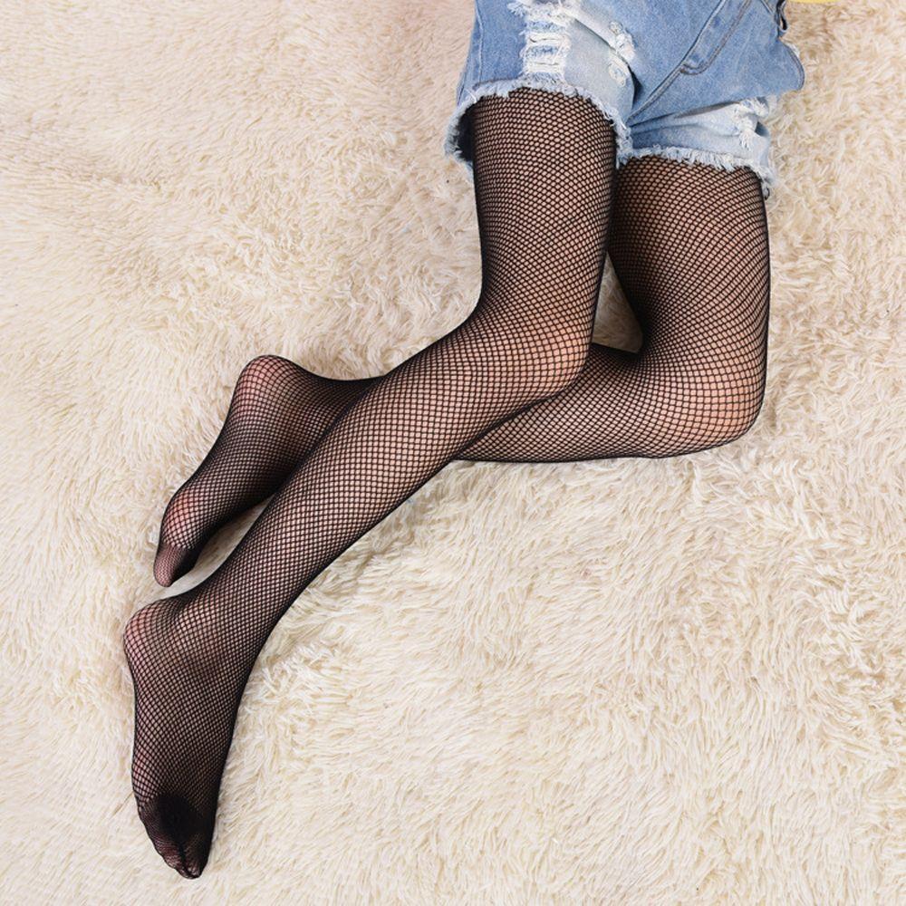 1PC Summer Net Pattern Pantyhose Tights Stockings Mesh Fishnet Fashion Kids Baby Girls Mesh Fishnet Pantyhose Tights