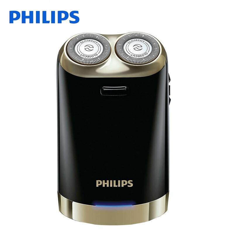 Original Philips Electric Shaver HS199 Double Automatic Intelligent USB Charging Electric Razor For Men With Automatic Grinding philips s551 electric double heads 3d shaver