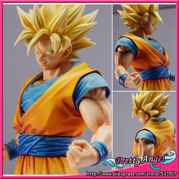PrettyAngel - Genine Banpresto Dragon Ball Z/Kai King of Coloring Master Stars Piece Super Saiyan Son Gokou Goku Action Figure межпланетный круизер audio cd