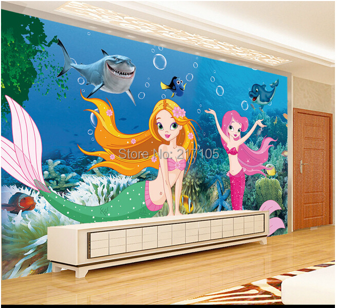 Online Buy Wholesale mermaid wallpaper from China mermaid wallpaper Wholesalers | Aliexpress.com
