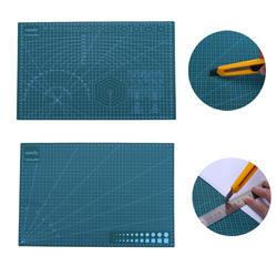 A3 коврик для резки ПВХ с двойным стороны Нескользящие Коврик для резки DIY самовосстановления лоскутное разделочная доска ткани кожи