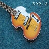 new store China factory custom hofner Violin bass H5001 CT 5 string electric bass guitar guitarra musical instrument shop