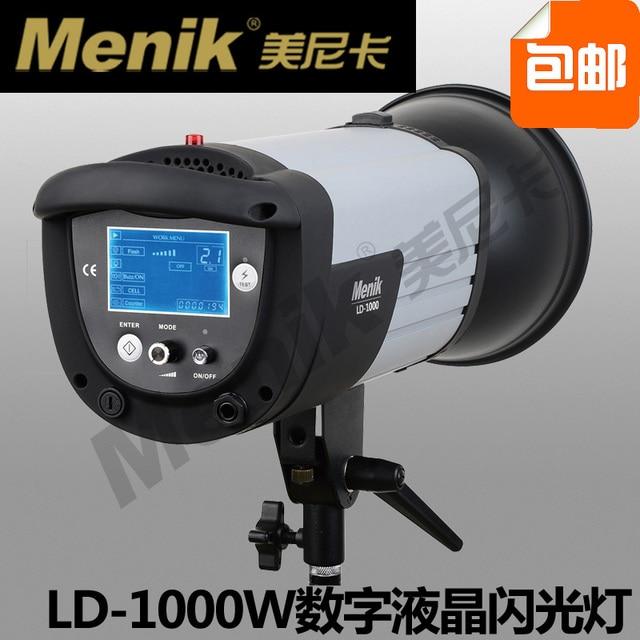 led video camera light flash Ld-1000 digital lcd flash light  led light lamp for video CD50