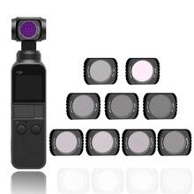 Filtre de caméra portable pour poche DJI 2 CPL MC UV ND 4 8 16 32 64 ensemble de filtres pour accessoires de lentilles en verre optique de poche DJI Osmo
