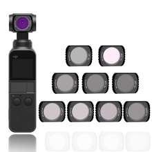 Handheld Camera Filter For DJI Pocket 2 CPL MC UV ND 4 8 16 32 64 Filters Set For DJI Osmo Pocket Optical Glass Lens Accessories