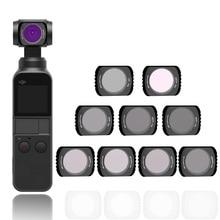 ハンドヘルドカメラフィルターdjiポケット2 cpl mc uv nd 4 8 16 32 64設定dji osmoポケット光学ガラスレンズアクセサリー
