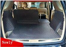 (Viajes en coche) Bueno! esteras tronco especial para Mercedes Benz W166 ML350 2015-2012 impermeable alfombras de arranque para 350 ML W164 2011-2006