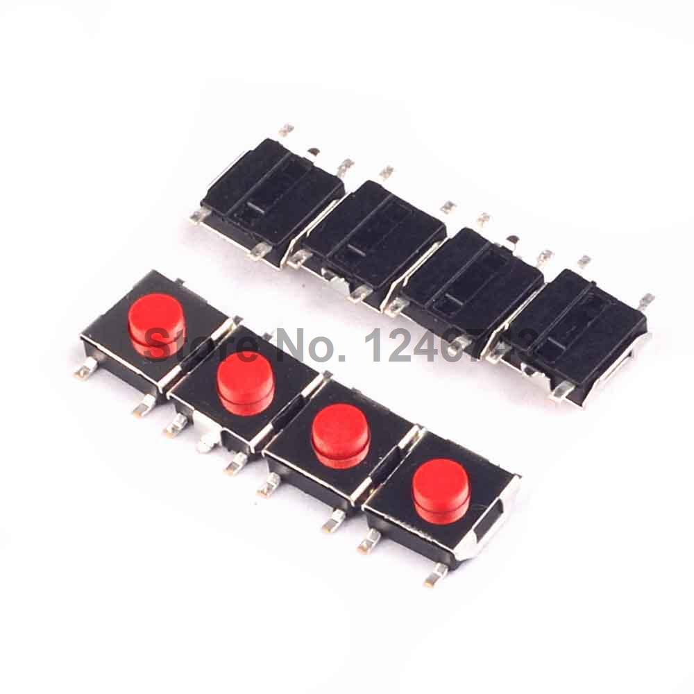 100pcs 6x6x31mm 5pin Tactile Tact Push Button Micro Switch A333 Microswitch