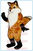 Маскоты Фантазии Fox Маскоты костюм плюшевые wild Red Fox пользовательские тему аниме маскарадные костюмы Карнавальный нарядное платье комплект