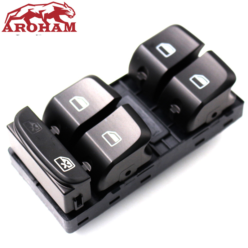 Aroham 8K0959851D New Electric Master Power Window Switch For Audi A4 S4 <font><b>Allroad</b></font> Quattro B8 Q5 A5 8KD959851 8K0 959 851D V10 image