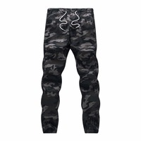 100 Cotton Mens Jogger Autumn Pencil Harem Pants 2018 Men Camouflage Military Pants Loose Comfortable Cargo Trousers Camo Jogger 1