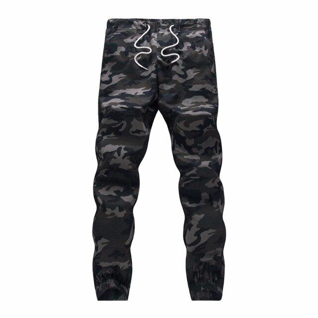 100 Cotton Mens Jogger Autumn Pencil Harem Pants 2018 Men Camouflage Military Pants Loose Comfortable Cargo Trousers Camo Jogger 1