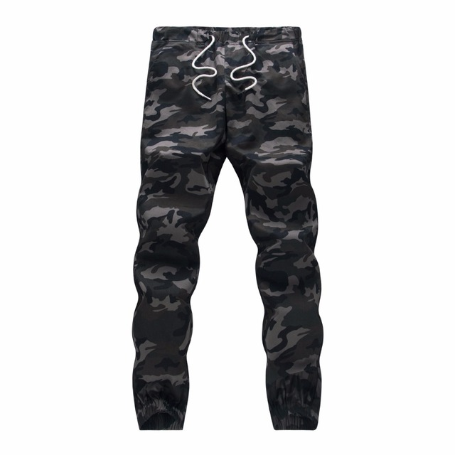 Cotton Mens Jogger Autumn Pencil Harem Pants 2020 Men Camouflage Military Pants Loose Comfortable Cargo Trousers Camo Jogger 3