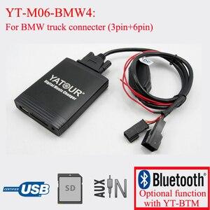 Image 1 - Yatour 디지털 cd 체인저 자동차 스테레오 usb 블루투스 어댑터 bmw 용