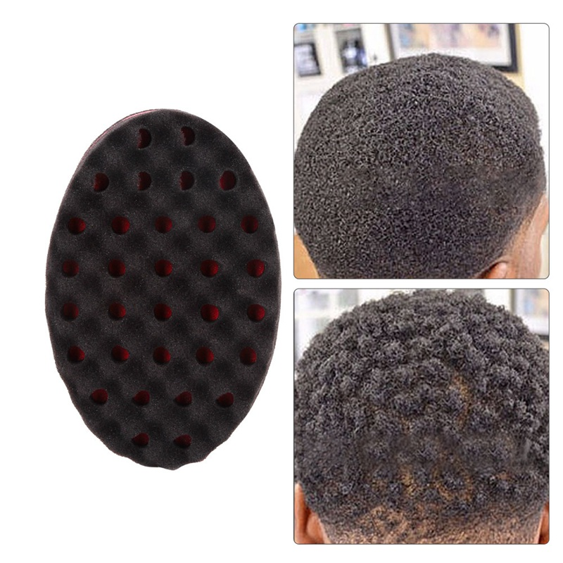 Home Appliances Personal Care Appliances Devoted Double Sided Barber Hair Brush Sponge Dreads Locking Twist Coil Afro Curl Wave Keep You Fit All The Time