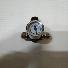 Mini Air Regulator Valve Pressure Gauge,Precision pressure regulator with display table,suitable for spray gun, air adjust