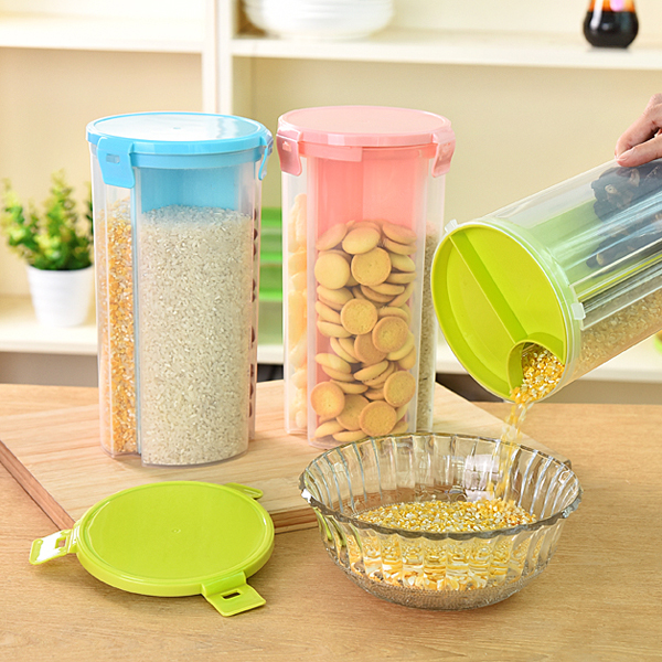 Kitchen food storage box grain storage tank plastic food containers