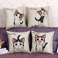 Printed cartoon cat household linen pillow, pillowcase,Home Textile-Pillow Case