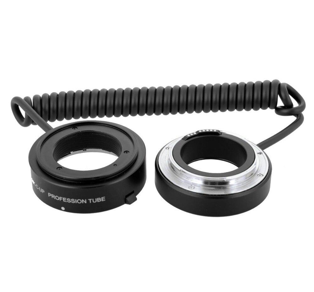 Mcoplus Meike MK-C-UP Auto Macro Tube d'extension AF adaptateur inverse pour appareil photo Canon EOS EF caméra de montage 6D 7D 60D 70D 1100D 650D - 2