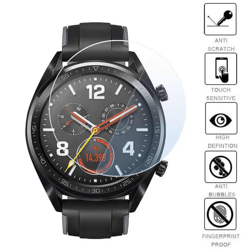 d357ade8f Soft Glass Film For Huawei Watch GT Screen Protector HD 9H Film Glass For Huawei  Watch