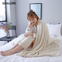 SENNLLJUNG Luxurious Large Warm Thick Sherpa Throw Blanket Coverlet Reversible Fuzzy Microfiber All Season Plaid For