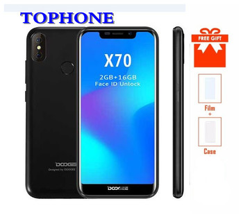 2018 NEW Doogee X70 Smartphone Android 8.1 19:9 5.5