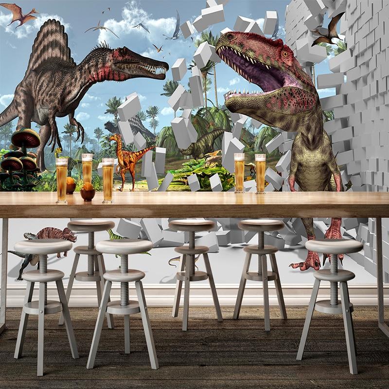 Dinosaurus Behang. Beste Ideen Over Kamer Behang Op Pinterest ...