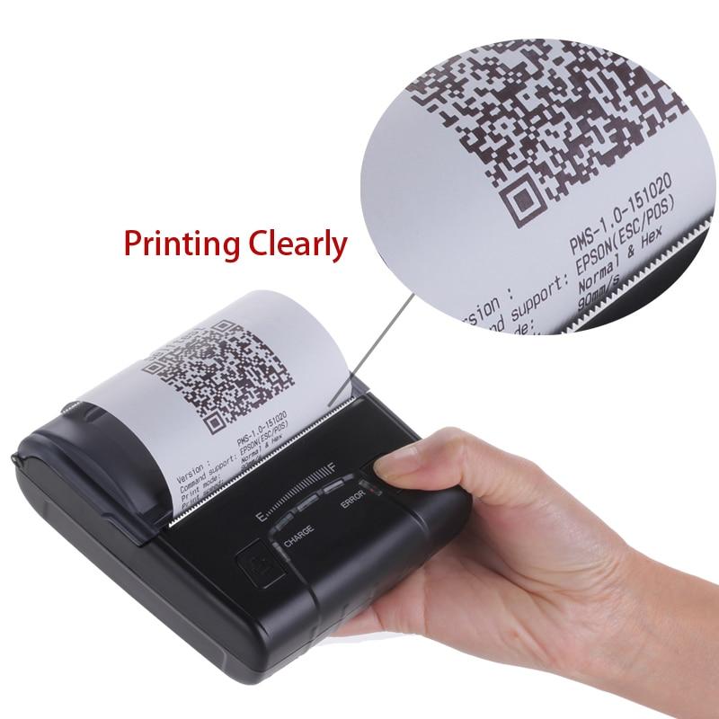 3 düymlük portativ bluetooth istilik qəbulu printerləri AVM qanun - Ofis elektronikası - Fotoqrafiya 4