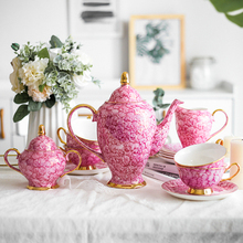 European luxury Coffee cup set with Hand painted Ceramic English afternoon tea home ceramic water Gift