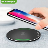 JK62 Fast Charging Qi Wireless Charger Pad For IPhone X 8 Plus Samsung Galaxy Note 8