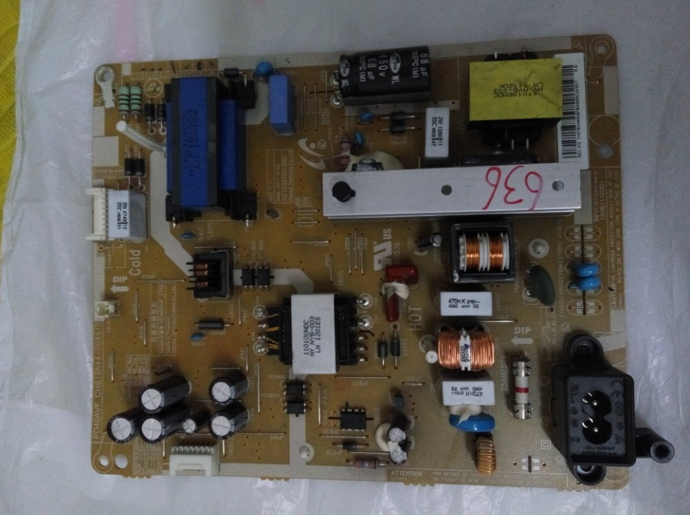 BN44 00497B BN44 00497A CONNECT WTIH POWER SUPPLY logic board for UA46EH5080R T CON connect board