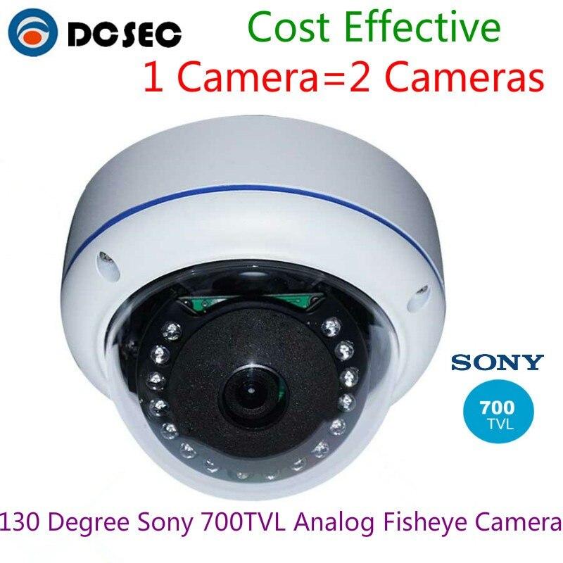 "1//3/"" Sony CCD 700TVL High End CCTV Security Camera Fisheye Lens Camera"